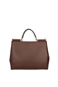 Dolce&Gabbana Borse a Mano Donna Pelle Marrone #borse