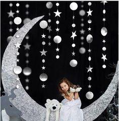 Kids Party Decorations, Diy Wedding Decorations, Baby Shower Decorations, Christmas Decorations, Party Kulissen, Girl First Birthday, Birthday Kids, Christmas Birthday, Christmas Home