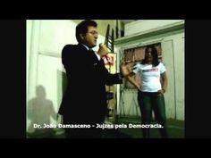 Juiz João Damasceno... sobre Dom Adriano #ComCausa   Com a participação de mais de 200 pessoas, foi uma noite de muita emoção a do Café no Ponto em homenagem à Dom Adriano Hipólito realizado pela ComCausa no dia 31 de agosto de 2010.  Entre os presentes que prestaram homenagem à Dom Adriano estava o Juiz João Batista Damasceno, Mestre em Ciência Política e membro da Associação Juízes para a Democracia.  #ComunicandoComCausa  #ComCausa