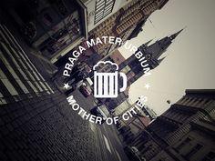 #design #typography #cities #praga #travel #lettering #playing