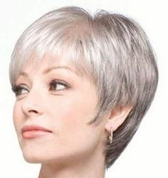 Short Bob Haircut Further Hairstyles Over 50 Frisuren Hairstyles Grey Hair Styles For Women Over 50, Short Hair Cuts For Women, Short Hairstyles For Women, Short Hair Styles, Short Grey Haircuts, Pixie Hairstyles, Pixie Haircuts, Hairstyles 2016, Trendy Haircuts
