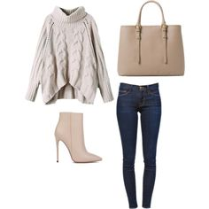Untitled #1 by acngirls on Polyvore featuring polyvore, fashion, style, Frame Denim, Akira Black Label and MANGO