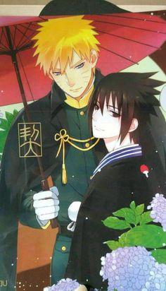 Read SASUKE X NARUTO! from the story Nasuno (Naruto x Saskue pic) ⚠️⚠️⚠️⚠️⚠️⚠️ by bonbonlovesyou (BonBon) with reads. Naruto Vs Sasuke, Kakashi Sensei, Naruto Cute, Anime Naruto, Manga Anime, Manga Art, Sasunaru, Naruto Y Boruto, Narusasu