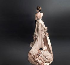 ITNA Handmade Flowers Romantic Long Bridal/ Wedding by sallyFLi