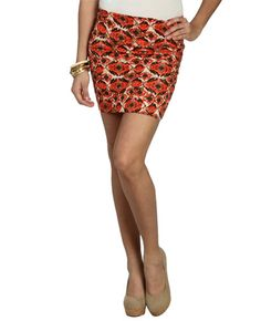 I'm so glad I snagged this skirt for summer... and spring! Totally goes with my tribal, anthropological wardrobe switch!