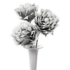 Large Village Flower in Grey, $38.85 #zgallerie