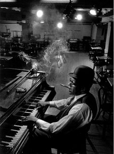 Willie 'The Lion' Smith, New York; captured by Arnold Newman (1960)