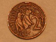 NZ 2Cent Coin - Kowhai
