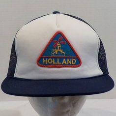 SnapBack Vintage Holland Baseball-Truckers Hat Cap #Holland #BaseballCap