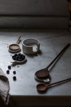 fringe & fettle ceramics x hackwith design house nesting spoons by Beth Kirby | {local milk}, via Flickr