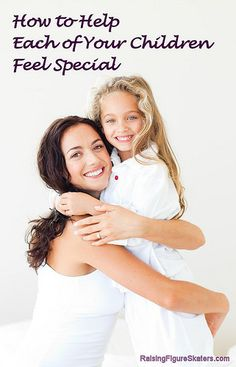 Do you worry about whether you're treating your children fairly and helping each of your children feel special? In this post, you'll find lots of ideas and resources about what you can do to help each of your children feel special.