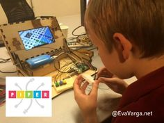 Piper is an amazing hacker toolbox based on a Raspberry Pi that teaches kids how to build electronics by playing Minecraft. Review@EvaVarga.net