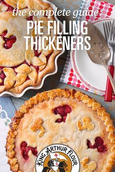 Pie Filling Thickeners; Pat used to call my pies berry soup because they never thickened.