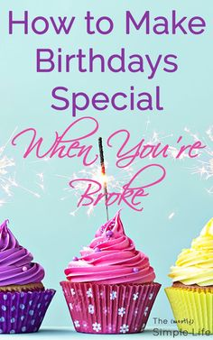 How to make birthdays special when you're broke inexpensive birthday ideas Tons of ideas for special birthday decorations, gifts, and food! Inexpensive Birthday Party Ideas, Birthday Party Decorations For Adults, Cheap Birthday Gifts, Birthday Week, Adult Birthday Party, Birthday Dinners, Husband Birthday, Birthday Woman, Special Birthday
