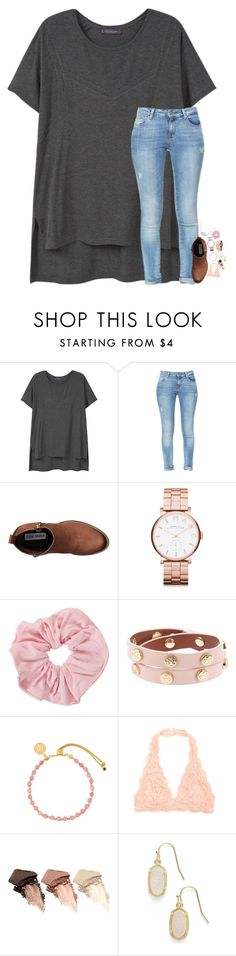 """""""simplify"""" by elizabethannee ❤ liked on Polyvore featuring Violeta by Mango, Zara, Steve Madden, Marc by Marc Jacobs, Tory Burch, Astley Clarke, Urban Decay and Kendra Scott"""