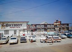 buccaneer motel wildwood nj - Google Search North Wildwood Nj, Motel, Vintage Postcards, New Jersey, Geography, Buildings, Scenery, Street View, Neon