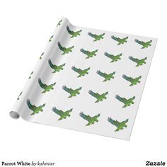 Parrot White Wrappin