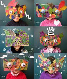 Summer Activities For Kids, Art Activities, Diy For Kids, Crafts For Kids, Cardboard Crafts, Paper Crafts, Ecole Art, Middle School Art, Recycled Art