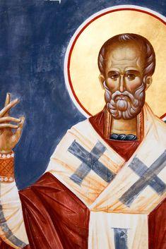 Byzantine Icons, Saint Nicholas, Orthodox Icons, Holi, Buddha, Saints, Statue, Painting, Art