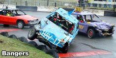 Full contact banger racing....might get rid of a bit of aggression ha ha ha
