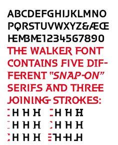 Walker by Matthew Carter