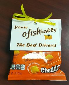 Driver Appreciation Week at Tom Thumb / Albertsons.  We love our drivers!