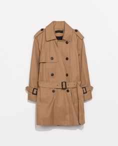 I have a light beige trench but would love to have this one - caramel 3/4 sleeves - Zara