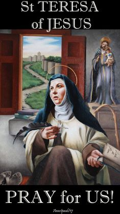 """Thought for the Day – – 15 October – The Memorial of St Teresa of Jesus/Avila (1515-1582) Doctor of the Church  Since her encounter with Jesus, St Teresa lived """"another life""""; she become a tireless communicator of the Gospel (cf. Life, 23, 1).   Eager to serve the Church and in the face of serious problems of her time, she did not limit herself to being a spectator of the reality around her.   In her position as a woman and with her health difficulties, she ..#mypic"""