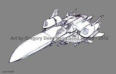 Lyrian Corvette by ~GTDees on deviantART