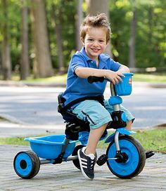 Multi-Stage Tricycle....grows with the child.