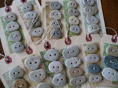 Bonkers About Buttons: Beach Stone Buttons