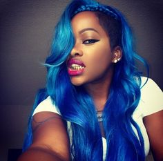 Sew in styles (casual and wedding) on Pinterest | Full Sew In, Blue ...