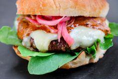 Smoky Ancho Cheddar Burgers