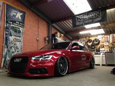 Some fresh Vip modular Wheels (?) under brand new Audi