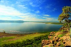 Lake Nakuru National Park in Kenya