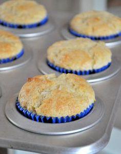 Vanilla Coconut Muffins