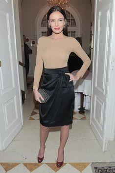 Agnieszka Włodarczyk Poland, Leather Skirt, Celebrities, Sexy, Skirts, Beauty, Fashion, Moda, Skirt
