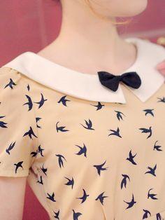the flying swallow open back dress