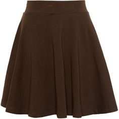 Pull & Bear Basic Skater Skirt ($6.26) ❤ liked on Polyvore featuring skirts, faldas, saias, bottoms, pull&bear, cotton skater skirt, flared skirt, skater skirt e circle skirt