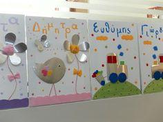 Sugarbaby Art: Παιδικοί πίνακες Triangle, Canvas, Frame, Blog, Home Decor, Tela, Picture Frame, Decoration Home, Room Decor