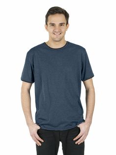 Style # 308 - Men's Ringer-T - Heather Jersey 50% Organic Cotton / 50% Recycled Polyester – 7oz Available in Heather Navy/Navy – Heather Black/Black – Heather Red/Red  Heather Grey/Red – Heather Grey/Navy – Heather Grey/Black