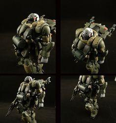 GUNDAM GUY: HGUC 1/144 AMS-129F Kaing Zulu - Custom Build