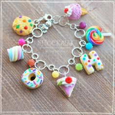 bracelet sweets clay
