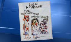 Séisme en Italie: la mairie d'Amatrice porte plainte contre Charlie Hebdo