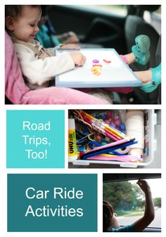Keeping little ones entertained on car rides can be quite the challenge. If you're hitting the road for a longer trip, our Sparkle team has offered up some ideas on how they keep their own kiddos busy. Here's to a peaceful, fun, and happy time on the road for all!  #roadtripfun #carrideactivities Car Ride Activities, Sparkle Stories, Sparkle Crafts, Busy Boxes, Train Car, Little Ones, Road Trip, Challenges, Entertaining
