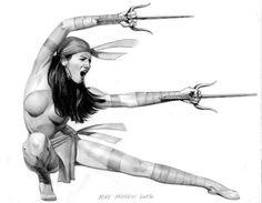 Elektra by Mike Mayhew