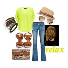 Relax. Its Summer., created by mstinso5 on Polyvore