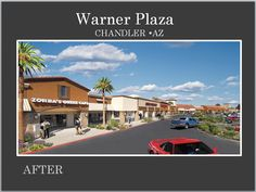 Another beautiful Re-Development by Michael A Pollack of Pollack Investments.  This Plaza is located in Chandler AZ, Contact Michael if you are looking for a space for your business. www.pollackinvestments.com