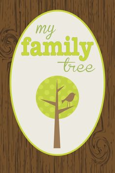 Family Tree Printable... cute book idea with pictures of family members so that the kids remember everyone