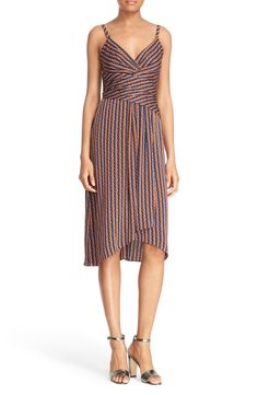 Diane von Furstenberg 'Saige' Wrap Waist Slipdress available at #Nordstrom